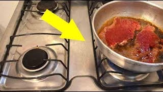 Как Пожарить Что Угодно, И НЕ Запачкать Плиту Маслом!