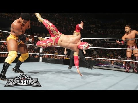 Sin Cara & Justin Gabriel vs. The Prime Time Players: WWE Superstars, May 31, 2013