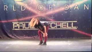 Marlee Hightower ~ World of Dance Orlando, Florida 7/27/13