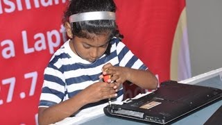 Fastest Dismantling And Assembling Of Laptop - 9 yr Old Sets Record