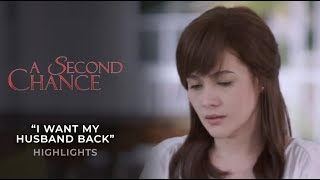 """I want my husband back"" 