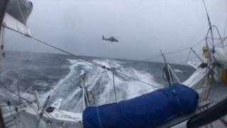 Incredible footage of Edmond de Rothschild North of the Kerguelen - Vendée Globe