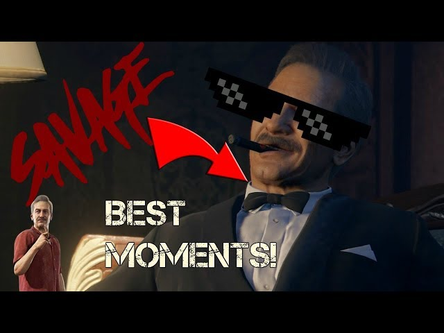 Victor Sullivan's Most Savage Moments!