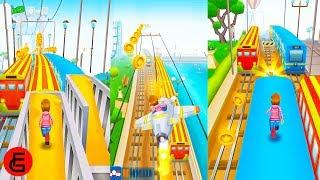 Subway Princess Runner #17 New Update   Android Gameplay   Friction Games