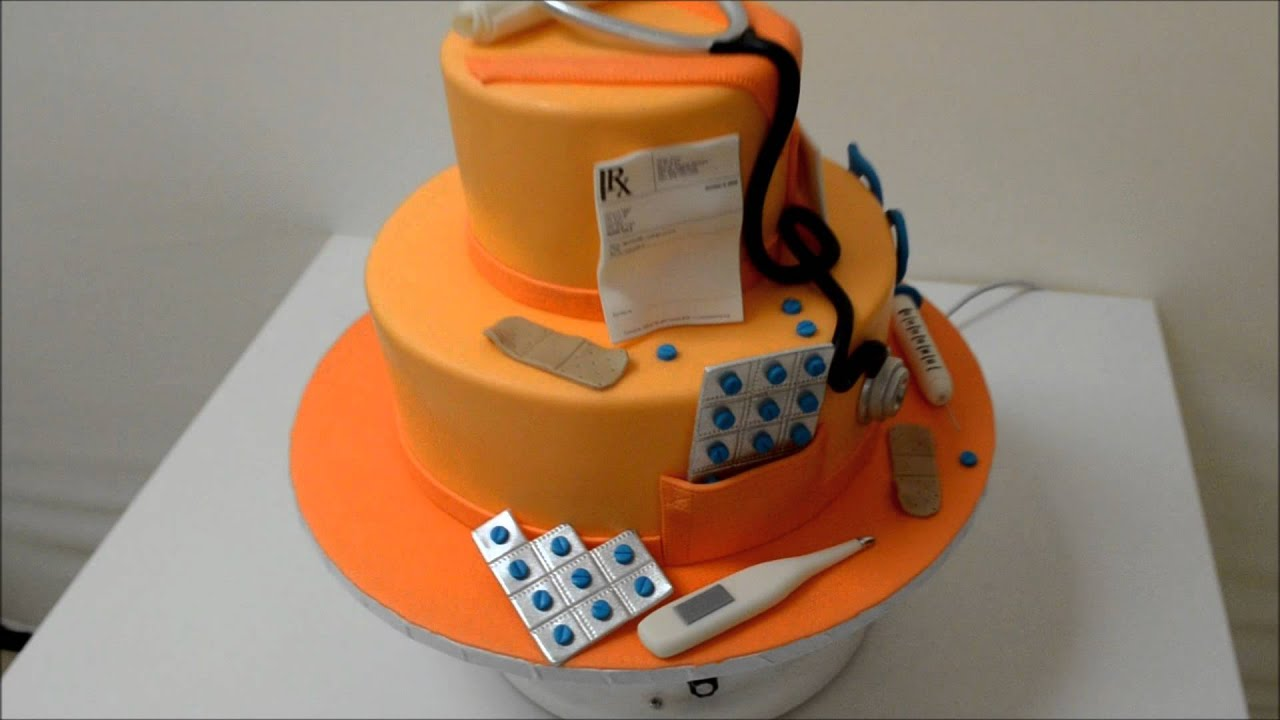 NursingDoctor Theme cake YouTube