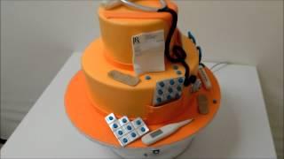Nursing/Doctor Theme cake