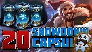 The Value of Snowdown Capsules