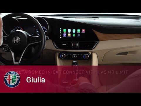 Alfa Romeo Giulia - Apple CarPlayintegration for iPhone