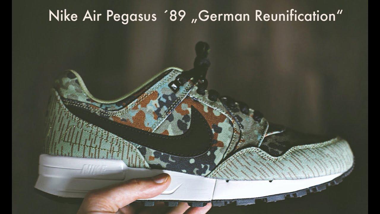 d39ec98b6e71 Nike Air Pegasus  89 German Reunification - YouTube