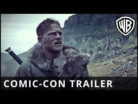 King Arthur: Legend of the Sword – Comic-Con Trailer - Official Warner Bros. UK