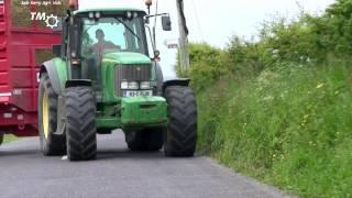 John Deere 6920S & Redrock Tandem Axle Trailer