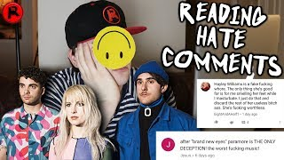 Responding to Paramore HATE COMMENTS!