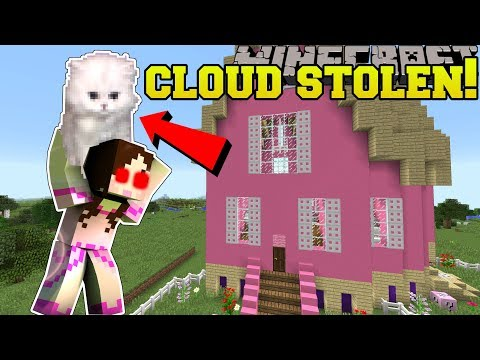 Minecraft: CLOUD IS STOLEN!!! - JEN'S CLOUD QUEST - Custom Map