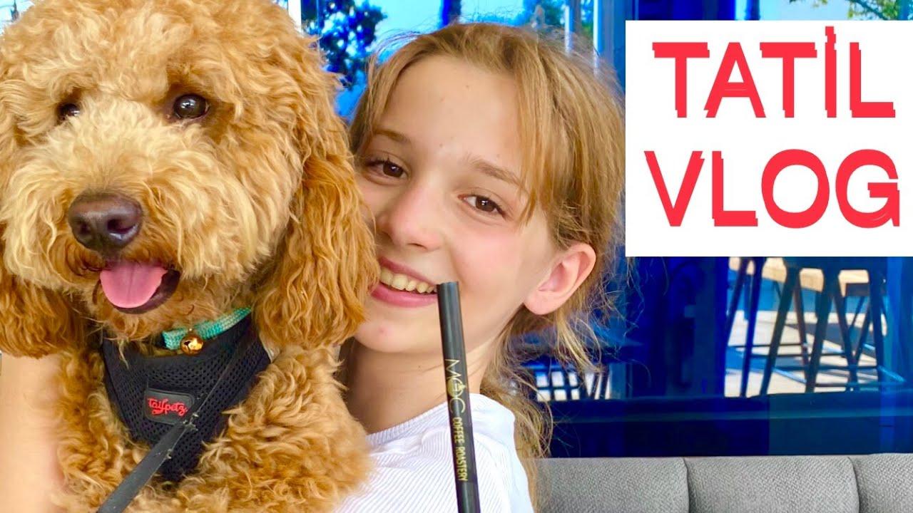 Tatil Vlog 1. Ecrin Su Çoban
