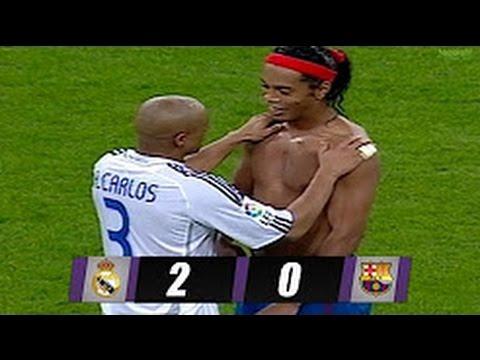 REAL MADRID Vs FC BARCELONA 2 - 0 ARCHIVE  22/10/2006