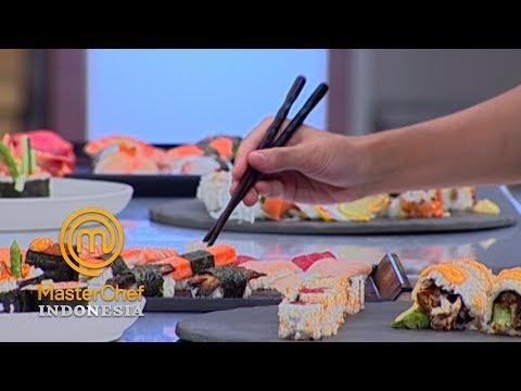 MASTERCHEF INDONESIA - Nilai Plus Dari Sushi Lita   Gallery 16   18 Mei 2019