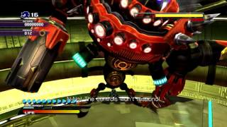 Sonic Unleashed: (Egg Dragoon Boss Fight) *HD/60fps*
