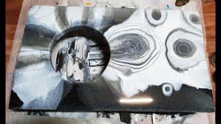 레진플루이드 커피테이블(인조대리석안료)