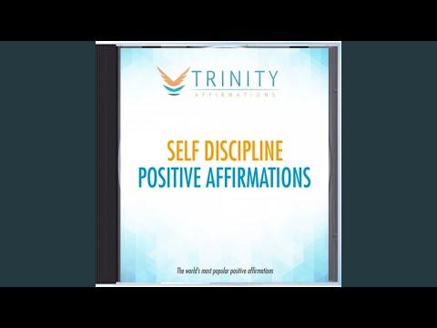 Self Discipline Natural Affirmations