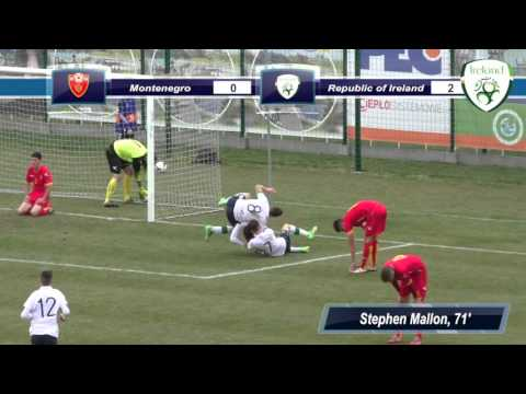 Montenegro U17s v Republic of Ireland U17s Highlights
