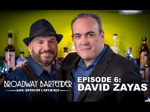 Broadway Bartender Episode 6: Actor David Zayas!