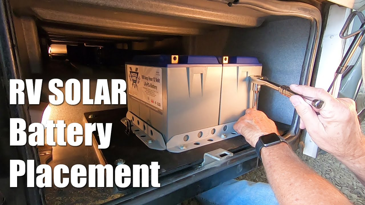 Our RV Battle Born Lithium Battery Placement - This New Old RV