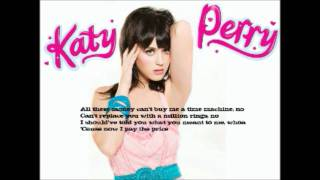 the one that got away katy perry acoustic karaoke