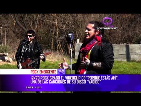 12/70 Rock en Q Noticias - Canal Quiero