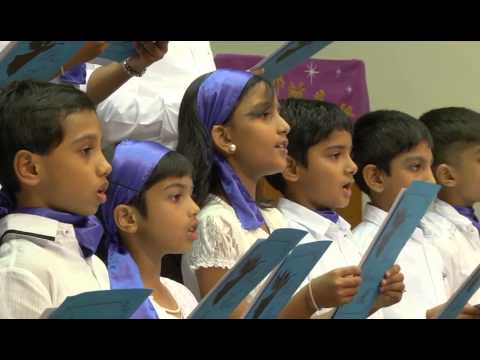 Far Far  Away in Judea's plains - CSI Immanuel Sunday School, Singapore (Carol Service 2014)