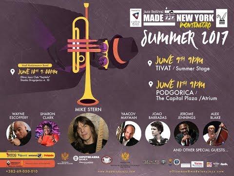 MAKING OF / Jazz Insider of Made in New York Jazz Festival, Montenegro 2017