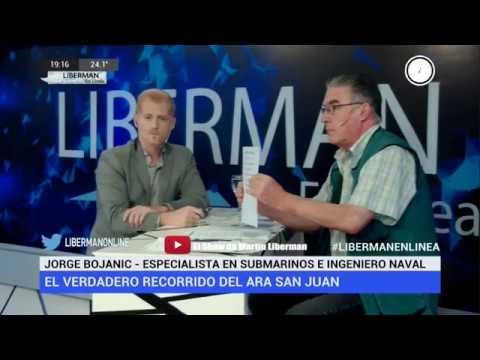Liberman: Submarino ARA San Juan 2018 - EL INGENIERO CUENTA TODA LA VERDAD QUE OCULTA LA ARMADA