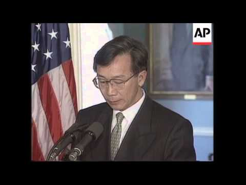 USA: WASHINGTON: THAI FINANCE MINISTER NIMMANAHAEMINDA VISIT