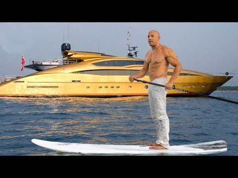 Bu Lüks Hayat Milyoner Vin Diesel'e Ait