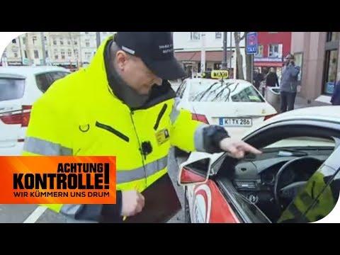 Taxiaufsicht On Tour: Im Taxi Muss Alles Tipptopp Aussehen!   Achtung Kontrolle   Kabel Eins