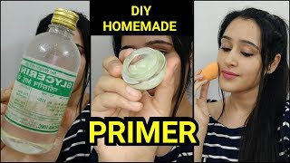 Make MAKEUP PRIMER AT HOME- EASY DIY MAKEUP PRIMER