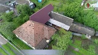 На Іршавщині «градобій» пошкодив сотні будинків та потрощив автівки