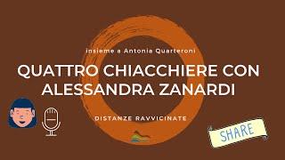 Quattro chiacchiere con Alessandra Zanardi