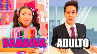 ADULTI VS BAMBINI A SCUOLA!!