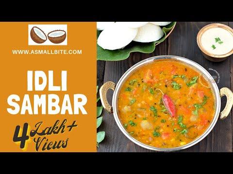 Idli Sambar Recipe - Quick and Easy Recipe of Sambar for ...
