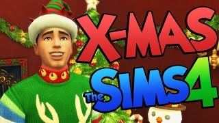 Sims 4 CHRISTMAS! Christmas DLC for The Sims 4 (Sims 4 Funny Moments) Thumbnail