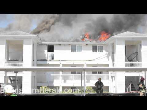 Sunset Pond Apartments Fire (Bellingham Fire)