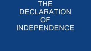 The Declaration of Independence - Complete Text