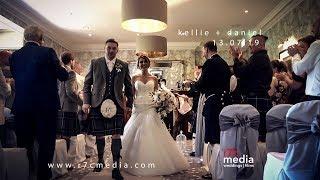 kellie + daniel - murrayshall hotel - highlights