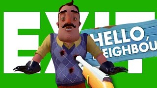 SECRET GUN ENDING THEORY | Hello Neighbor Theories & Secrets (Hello Neighbour Alpha 1 Gameplay)