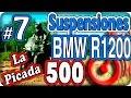 Como ajustar las suspensiones de una moto BMW R1200 GS. La Picada 500. Episodio (7/8)