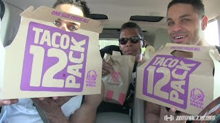 30 Taco Bell Tacos Eating Challenge   Eat Off   @hodgetwins