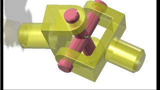 UNIVERSAL JOINT CREO TUTORIAL