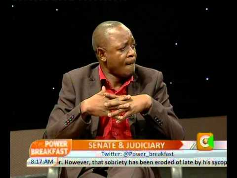 Power Interview with Paul Kimani Wamatangi-Senator,Kiambu