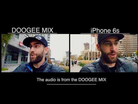 ★★★★☆ Doogee MIX review - 4G Unlocked Smartphones Android 7.0 - 5.5 Inch AMOLED HD Screen -