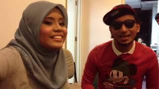 Najwa Latif & Zizan Cinta Muka Buku